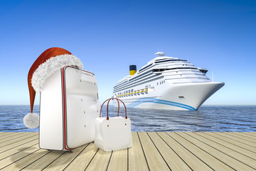 christmas travel cruise ship