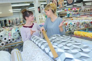textile retail shop
