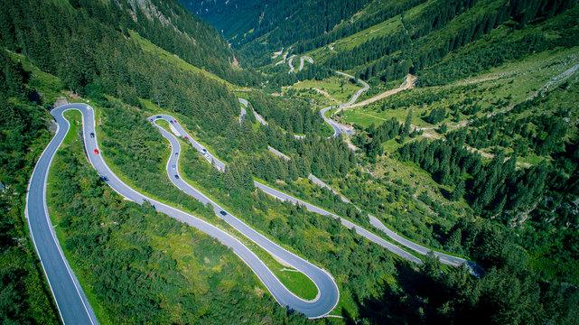 Hochalpenstrasse Silvretta-Montafon / Galtür