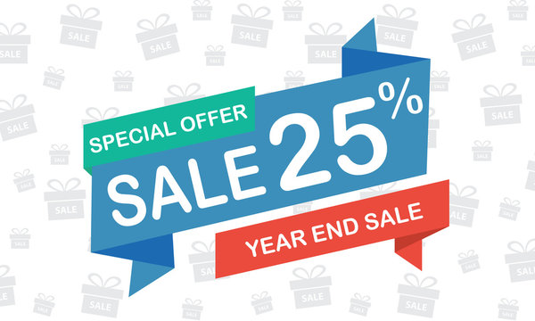 sale 25 percent year end