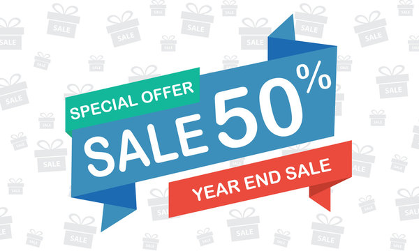 sale 50 percent year end