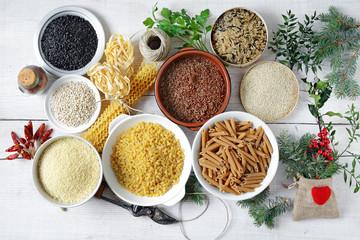 pasta - riso vario - couscous - orzo e quinoa - Natale