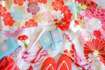 Japanese Kimono for 753 festival