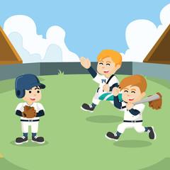 baseball team ready to train