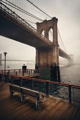 Fototapete - Brooklyn Bridge