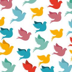 peace dove icon image vector illustration design