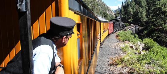Vintage steam train / Durango (Colorado - USA)