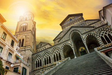 cattedrale of Sant'Andrea ,duomo of amalfi important traveling