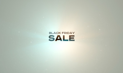 Black Friday Sale technology background. Holiday online shopping