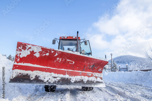 snowy machine