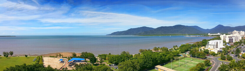 view of Cairns esplanade