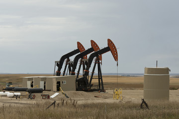 Pumping Oil Well in North Dakota