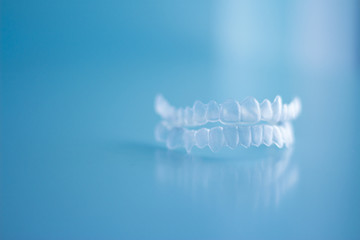 Transparent dental orthodontics