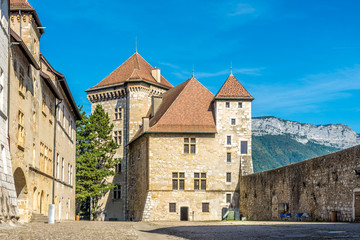 View at the Chateau of Annecy - France
