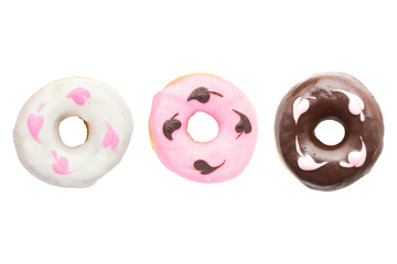 top view donut