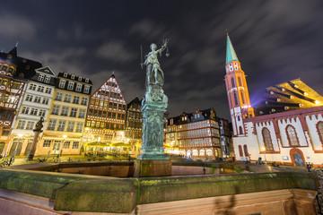 Street view of Frankfurt am Main