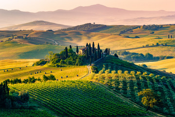 Photo Blinds Tuscany Tuscany, Italy. Landscape
