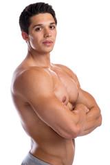 Mann Muskeln Bodybuilder Bodybuilding Fitness stark muskulös ju