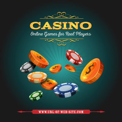 Casino And Gambling Background
