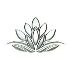 Luxury Silver Lotus plant image