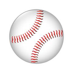 baseball ball icon graphic vector illustration eps 10