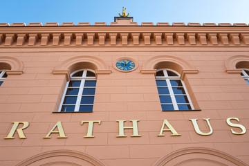 Rathaus einer deutschen Stadt