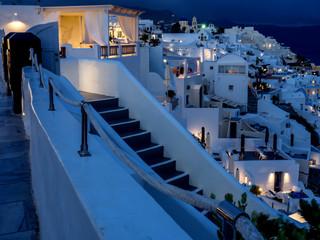 Santorini In The Evening - Greece
