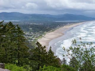 Long View of the Ocean Beach