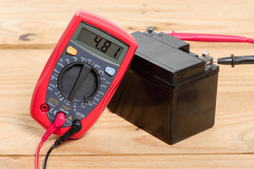 using the multimeter