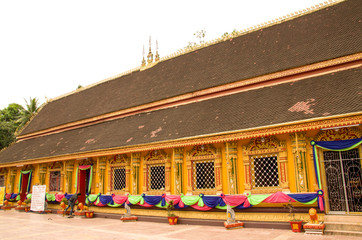 Wat Si Muang or Simuong is a Buddhist temple located in Vientiane, the capital of Laos