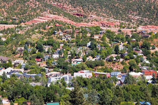 Manitou Springs Colorado Intemann Trail