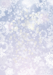 White winter snow background