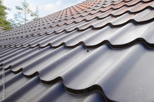 Quot Roofing Materials Metal House Roof Closeup House