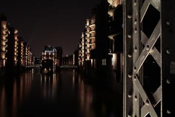 Hafencity - Speicherstadt Hamburg mit Wasserschlösschen
