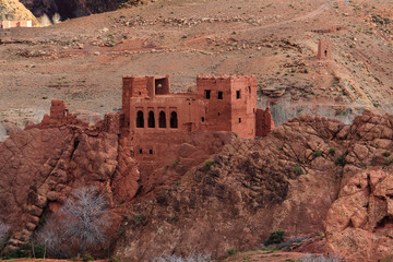 Kasbah in the Dades valley.