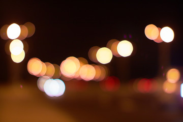 city lights abstract
