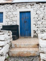 old slave house on Santiago Island in Cape Verde