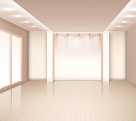 Empty Modern Room Interior