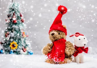 Christmas and Xmas, decoration for Winter