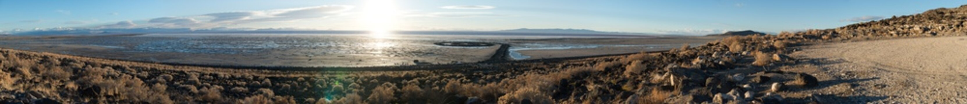 Spiral Jetty Panorama