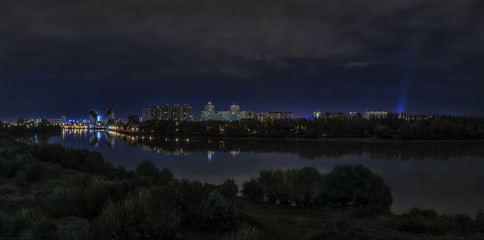 The view of the city of Krasnodar .