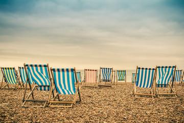 Brighton Beach Deckchairs