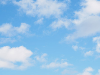 Blue sky with clouds for background use