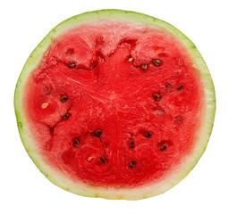 slice of watermelon closeup