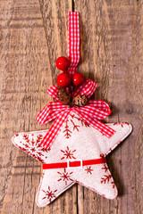 Stella di Natale di cotone