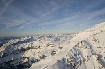 views of the alps, france