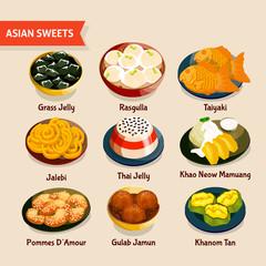 Asian Sweets Set