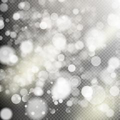 Gold bokeh lights. EPS 10