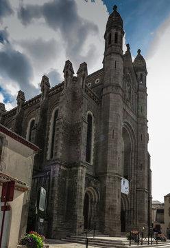 The Basilica of St. Louis de Montfort  at Saint-Laurent-sur-Sevr