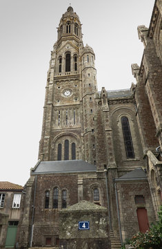 The Basilica of St. Louis de Montfort  at Saint-Laurent-sur-Sev